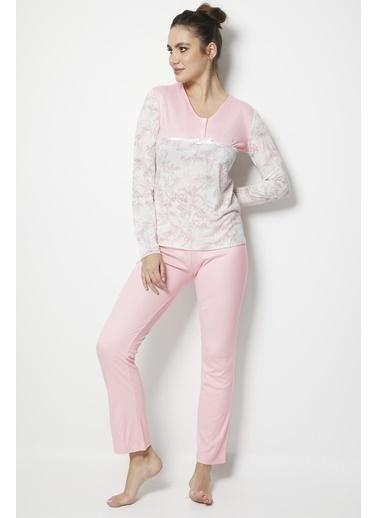 Doremi Pijama Takım Pembe